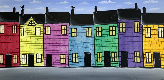 Image of Colourful Houses 2