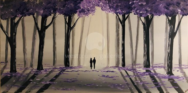Image of Purple Tree Walk 2