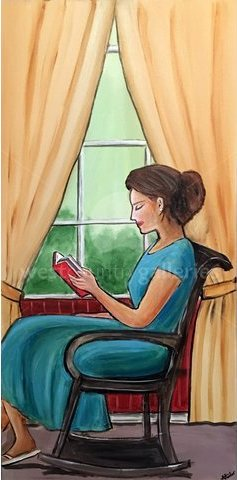 Image of Reading By The Window