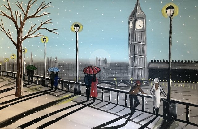 Image of Snowing In London 6