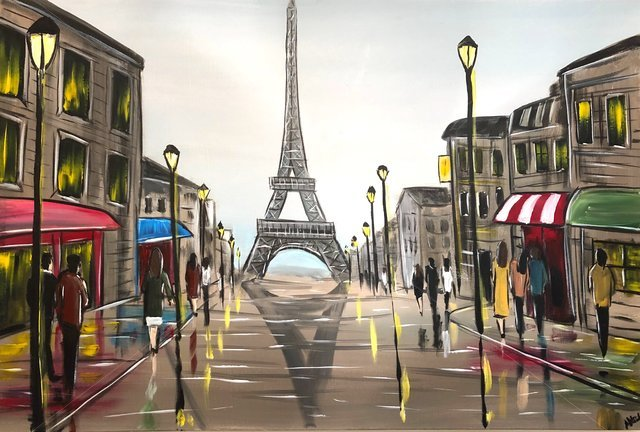 Image of Towards The Eiffel