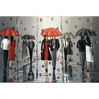Image of Umbrellas And The Rain 3