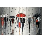 Image of Umbrellas And The Rain