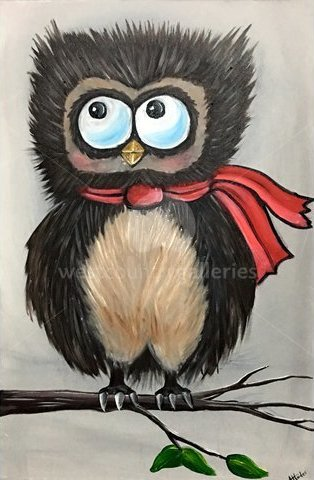 Image of Winter Owl