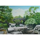 Image of Bridges at Dartmeet, giclée print