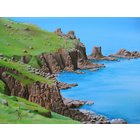 Image of Cliffs at Land´s End, giclée print