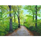Image of A Path in the Woods, giclée print