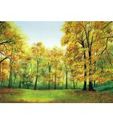 Image of Golden Autumn, giclée print
