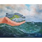 Image of world in our hands, giclee print