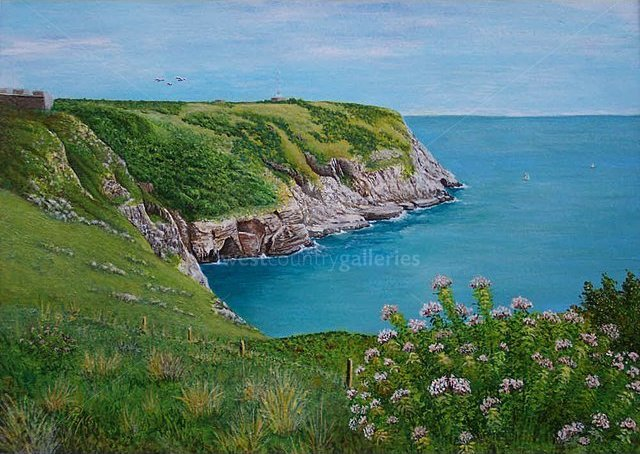 Image of Headland - giclée print