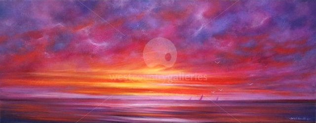 Image of Sailing at Sunset Giclee Print