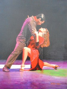 Image of Tango red dress