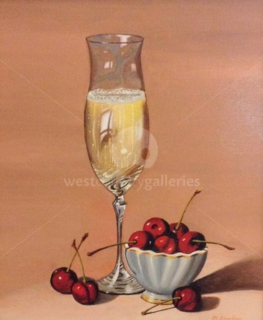 Image of Champagne and Cherries