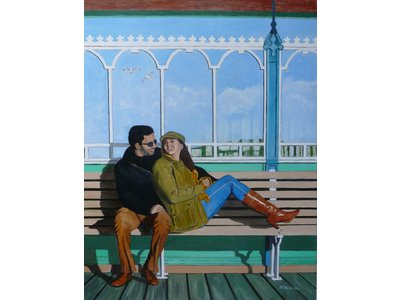 Image of Clevedon Pier Couple