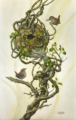 Image of The Nest Builders - Wrens