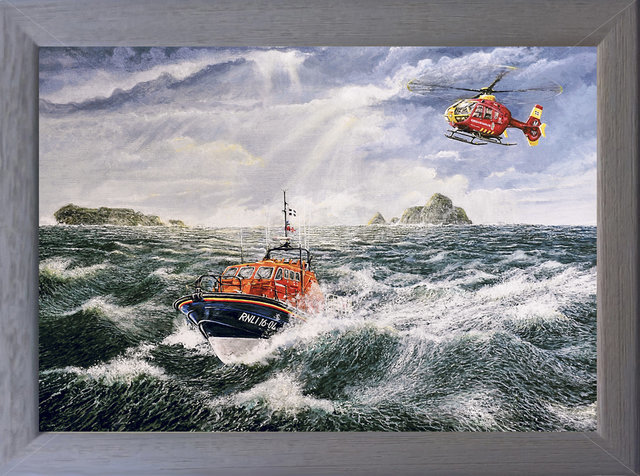 Image of To the Rescue, Cornwall's Life Savers - Padstow Lifeboat & Cornwall Air Ambulance