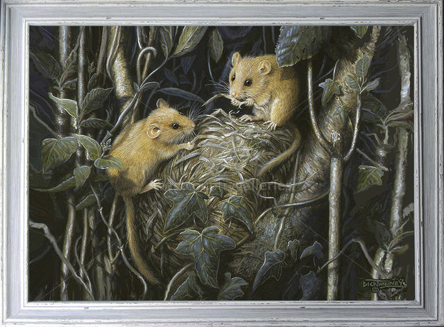 Image of By the Light of the Moon ~ The Nest Builders ~ Dormice