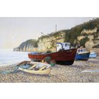 Image of Beer Boats - Mounted and signed Giclée print