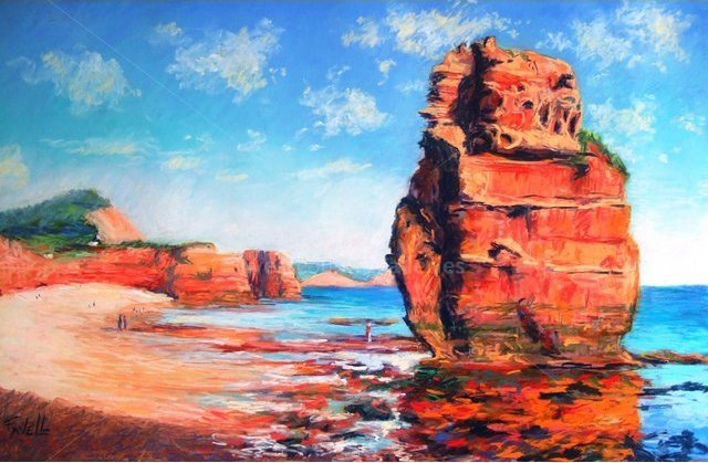 Image of Ladram Bay - SOLD