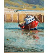 Image of Lyme Fishing Boat - SOLD