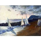 Image of Sailing Boats at Dusk, giclée print