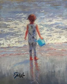 Image of Girl With A Blue Bucket