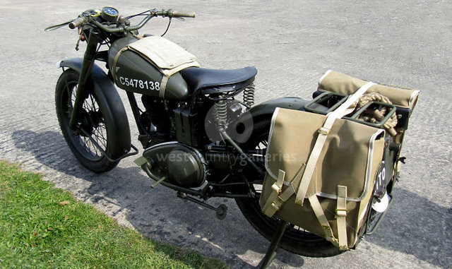 Image of Military Motorcycle 2