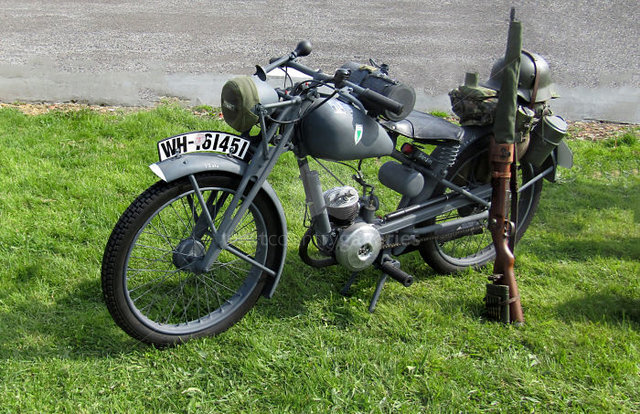 Image of Military Motorcycle 3