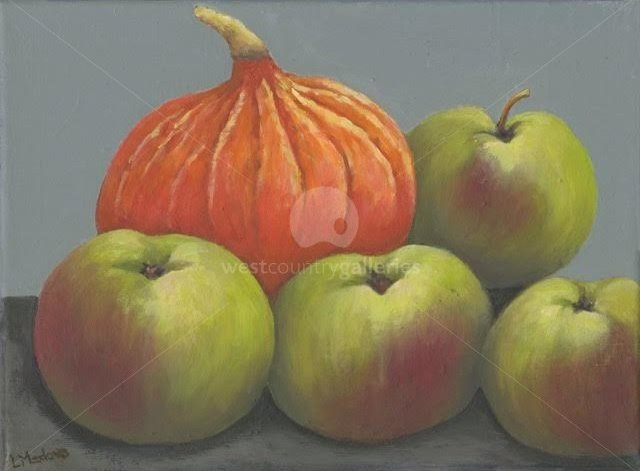 Image of Pumpkin and Apples